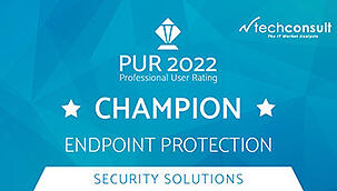 Techconsult: Professional User Rating Security Solutions 2021- DriveLock als Champion in Lösungsbereich Endpoint Protection